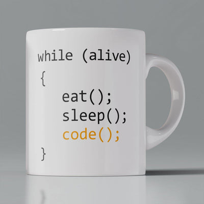 Coffee Mug - Eat Sleep Code Repeat
