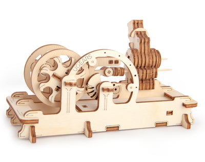 "Ugears ""Pneumatic Engine Kit"" I DIY Self-Assembly Mechanical Kits For Teens and Adults"
