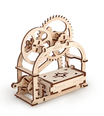"Ugears ""Mechanical Box"" I DIY Self-Assembly Mechanical Kits For Teens and Adults"