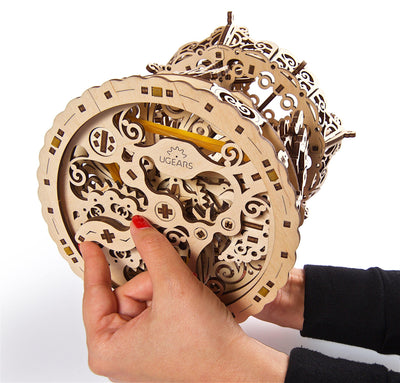 "Ugears ""Carousel Kit"" I DIY Self-Assembly Mechanical Kits For Teens and Adults"
