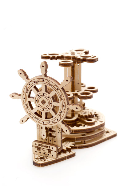"Ugears ""Wheel Organizer Kit"" I DIY Self-Assembly Mechanical Kits For Teens and Adults"