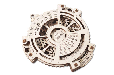 "Ugears ""Date Navigator Kit"" I DIY Self-Assembly Mechanical Kits For Teens and Adults"