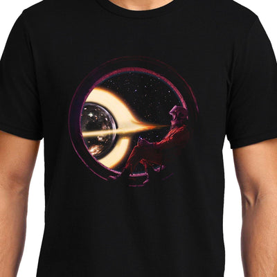 Astronaut Window , Space , Unisex Graphic T-Shirt - GeekDawn