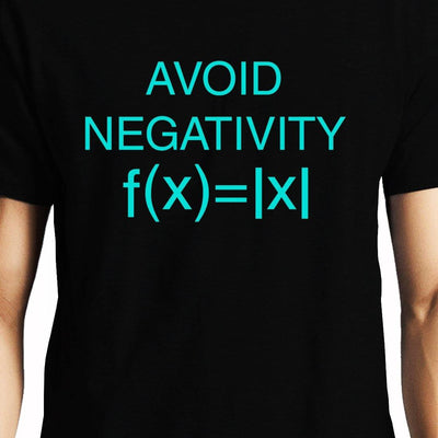 Avoid Negativity , Math , Unisex Graphic T-Shirt - GeekDawn