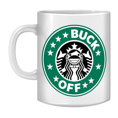 Coffee Mug-BUCK OFF - GeekDawn