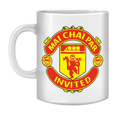 Coffee Mug-MAI CHAI PAR INVITED - GeekDawn