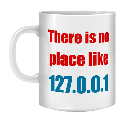 Coffee Mug-NO PLACE LIKE HOME - GeekDawn