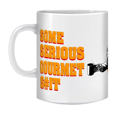 Coffee Mug- Some Serious Gourmet S#it - GeekDawn
