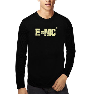E=MC2 ,Einstein , Physics , Unisex Graphic Full Sleeves T-Shirt - GeekDawn