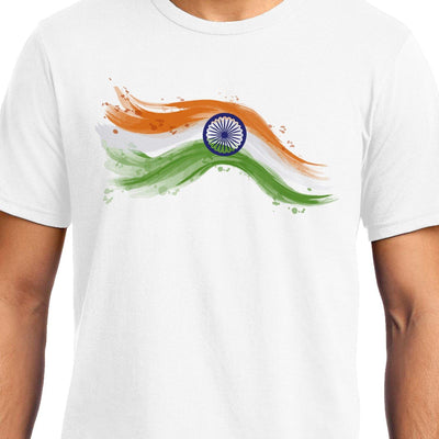 Tricolor Art, Unisex Graphic T-Shirt