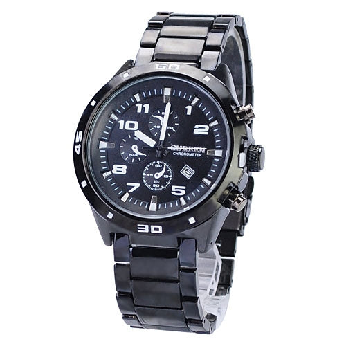 Stainless steel Military Man Casual Sport Quartz waterproof watches