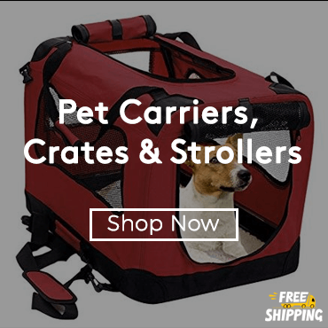 Buy Pet Carriers, Crates & Strollers