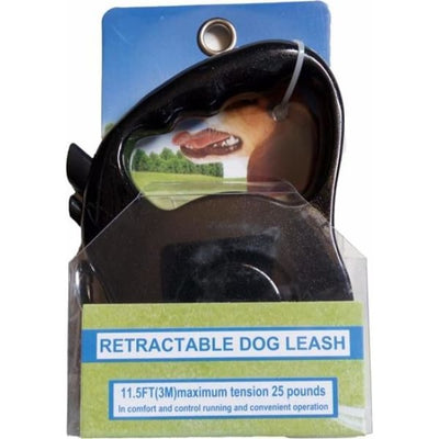 $22.50 - 3M AUTOMATIC RETRACTABLE DOG LEASH - PET DOGS WALKING RUNNING LEAD (5) TRAVEL PETS
