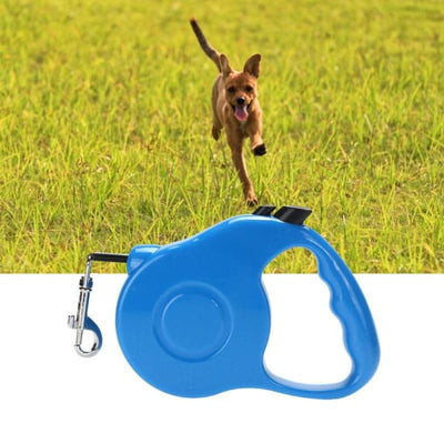 $22.50 - 3M AUTOMATIC RETRACTABLE DOG LEASH - PET DOGS WALKING RUNNING LEAD (7) TRAVEL PETS