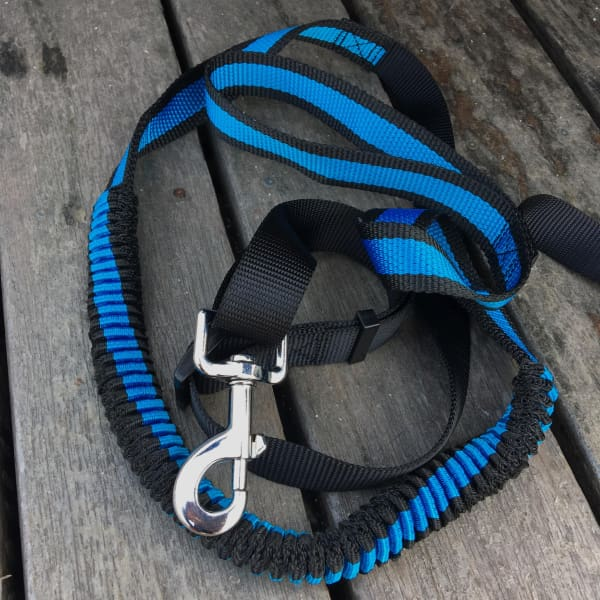 $28.50 - BUNGEE STRETCH JOGGING HANDS-FREE DOG LEAD (1) TRAVEL PETS