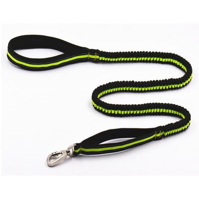 $29.95 - BUNGEE STRETCHABLE DOG LEAD GREEN 0.3KG (8) TRAVEL PETS