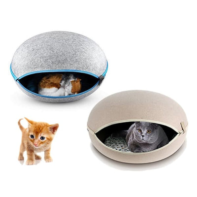 $79.00 - EGG CAT BED CAVE (4) TRAVEL PETS
