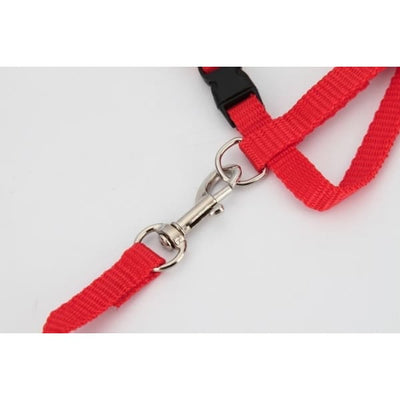 $14.50 - ADJUSTABLE CAT LEASH WITH HARNESS SET (NO ESCAPE) (10) TRAVEL PETS