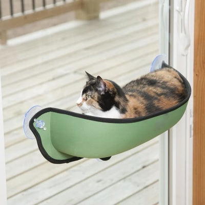 $53.75 - CAT WINDOW BED 1KG (4) TRAVEL PETS