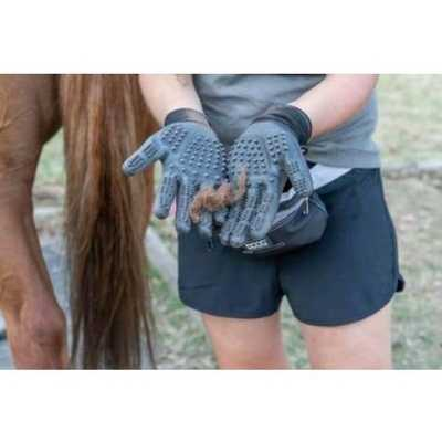Professional Pet Deshedding Grooming Gloves (Pair) Hands On Gloves
