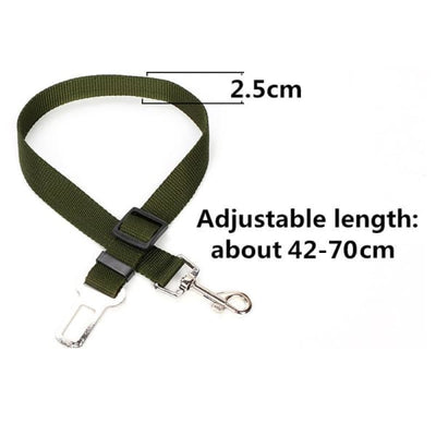 $14.50 - DOG CAR SEAT BELT - KEEPS YOUR DOG SAFE DURING CAR RIDES (5) TRAVEL PETS