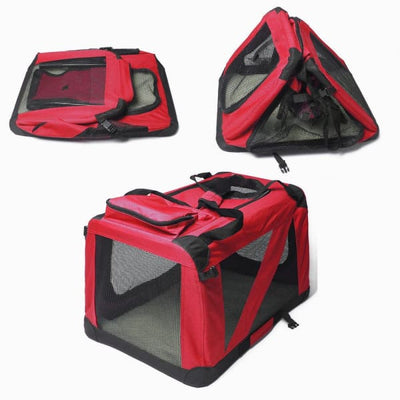 $109.95 - XXL FOLDABLE SOFT-SIDED PET/DOG CRATE (3) TRAVEL PETS