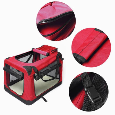$109.95 - XXL FOLDABLE SOFT-SIDED PET/DOG CRATE (6) TRAVEL PETS