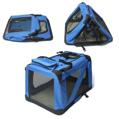 $109.95 - XXL FOLDABLE SOFT-SIDED PET/DOG CRATE (12) TRAVEL PETS