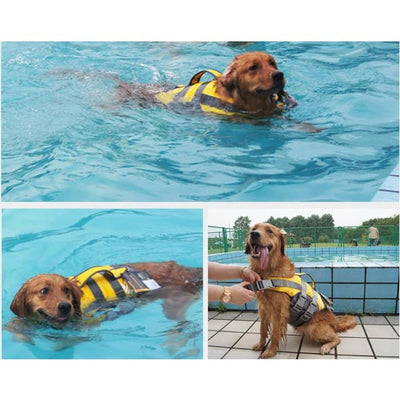 $79.00 - HELIOS DOG HARNESS ADJUSTABLE LIFE JACKET (5) TRAVEL PETS