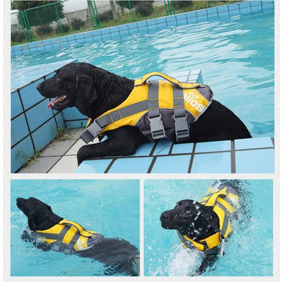 $79.00 - HELIOS DOG HARNESS ADJUSTABLE LIFE JACKET (1) TRAVEL PETS