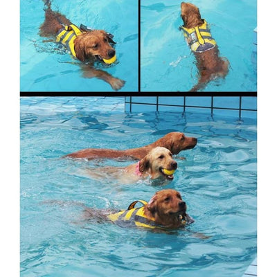 $79.00 - HELIOS DOG HARNESS ADJUSTABLE LIFE JACKET (6) TRAVEL PETS