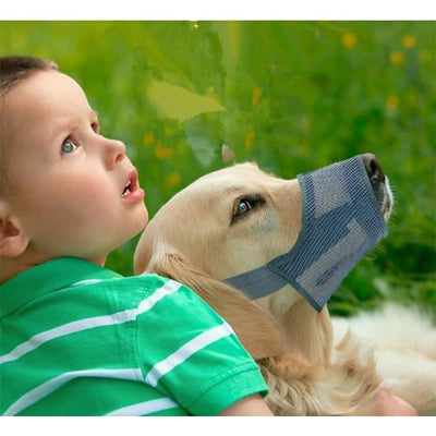 $34.95 - ADJUSTABLE MESH DOG MUZZLE 05 0.5KG (2) TRAVEL PETS