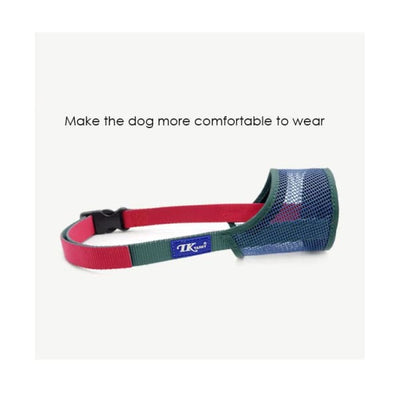 $34.95 - ADJUSTABLE MESH DOG MUZZLE (3) TRAVEL PETS
