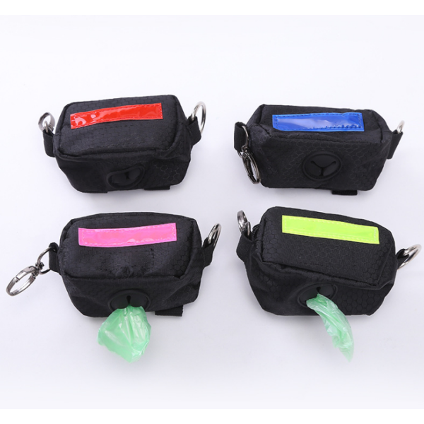 $22.95 - DOG POOP BAG HOLDER PRO BLUE 0.1KG (1) TRAVEL PETS