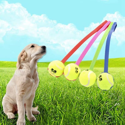 $16.50 - DOG TENNIS BALL TOY LAUNCHER WITH FREE (1) TENNIS BALL (4) TRAVEL PETS