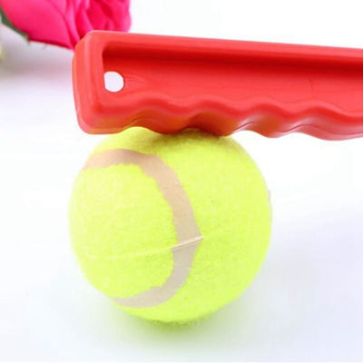 $16.50 - DOG TENNIS BALL TOY LAUNCHER WITH FREE (1) TENNIS BALL (5) TRAVEL PETS