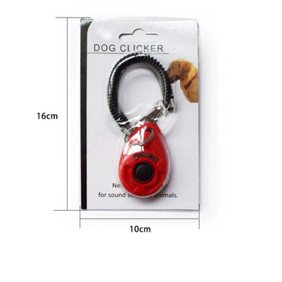 $19.99 - PET DOG TRAINING CLICKER PET TRAINER TOOL KEY CHAIN (10) TRAVEL PETS