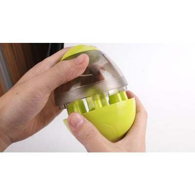 $29.95 - DOG TREAT DISPENSING INTERACTIVE BALL (7) TRAVEL PETS