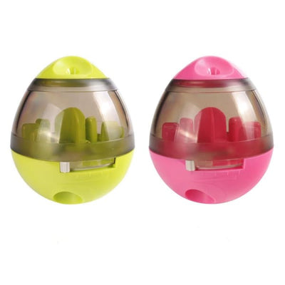 $29.95 - DOG TREAT DISPENSING INTERACTIVE BALL (6) TRAVEL PETS