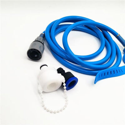 $34.95 - PET BATHING TOOL: ALL-IN-1 HOSE WASHER & SCRUBBER FOR DOGS/CATS (4) TRAVEL PETS