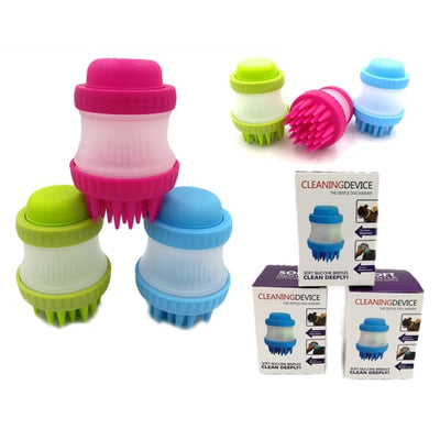 $29.99 - SILICONE PET WASHER (2) TRAVEL PETS