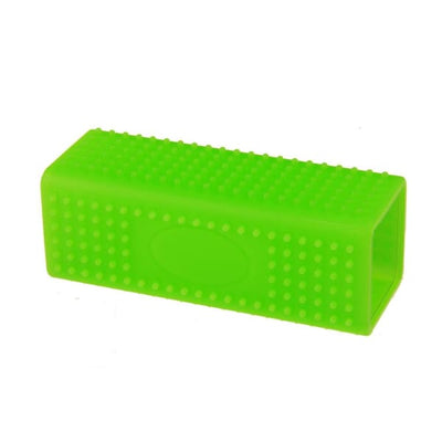 $24.95 - RECTANGLE SILICONE PET GROOMING TOOL GREEN 0KG (7) TRAVEL PETS