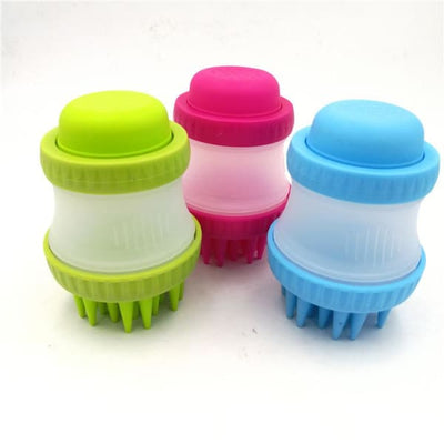 $29.99 - SILICONE PET WASHER GREEN 0KG (3) TRAVEL PETS