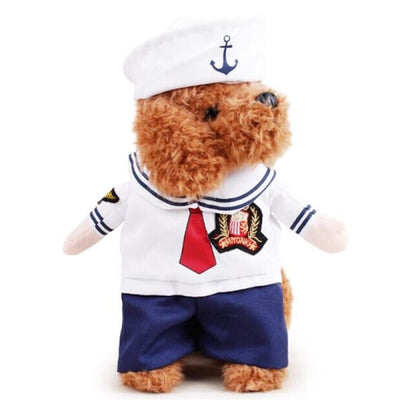 $19.99 - SAILOR CAT/DOG COSTUME (4) TRAVEL PETS
