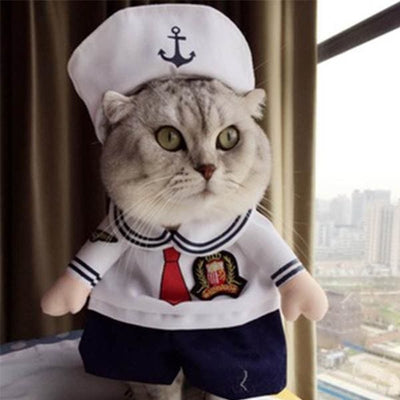 $19.99 - SAILOR CAT/DOG COSTUME (2) TRAVEL PETS