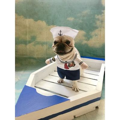 $19.99 - SAILOR CAT/DOG COSTUME (3) TRAVEL PETS