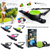 $89.00 - LISHINU RETRACTABLE HANDS-FREE BUNGEE DOG LEAD BLACK 0.6KG (2) TRAVEL PETS