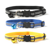$12.50 - REFLECTIVE SAFETY BREAKAWAY ADJUSTABLE CAT COLLAR WITH BELL (11) TRAVEL PETS