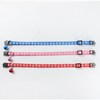 $11.00 - CUTE PAW PRINT SAFETY BREAKAWAY ADJUSTABLE SAFE CAT COLLAR WITH BELL (4) TRAVEL PETS