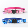 $11.00 - CUTE PAW PRINT SAFETY BREAKAWAY ADJUSTABLE SAFE CAT COLLAR WITH BELL (7) TRAVEL PETS